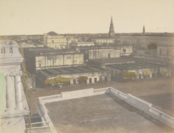 View of Calcutta from the godowns of Fairly Place